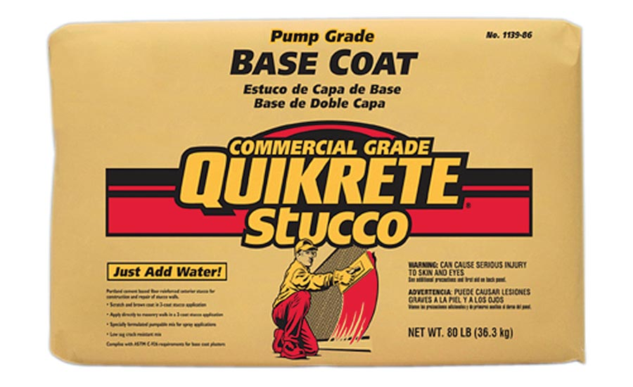 High Workability Base Coat - QUIKRETE Cos.