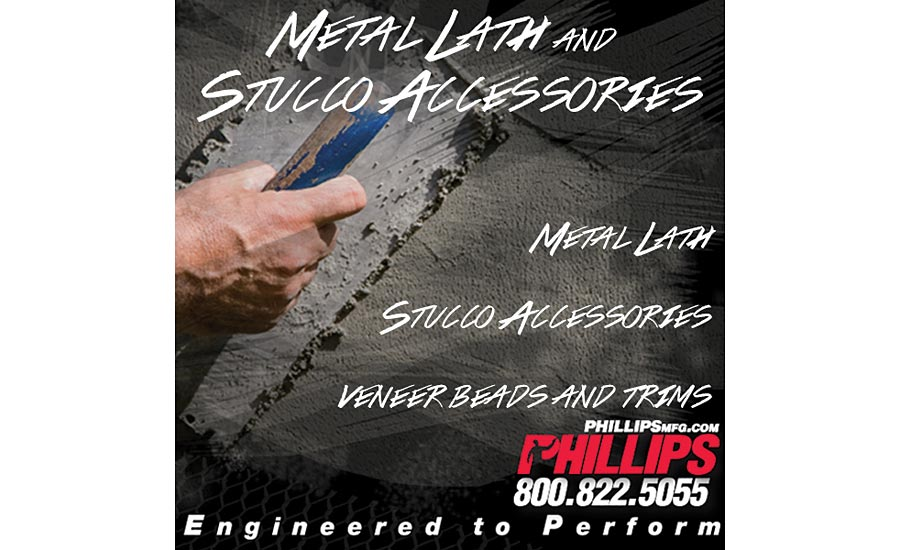 One-stop-shop for Lath and Stucco Accessories - Phillips Manufacturing Co.