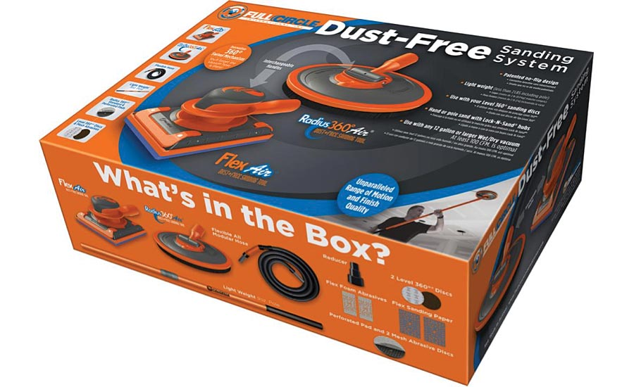 Dust-Free Sanding System Full Circle International