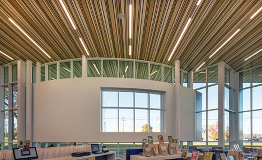 Linear Metal Ceilings by Hunter Douglas Architectural