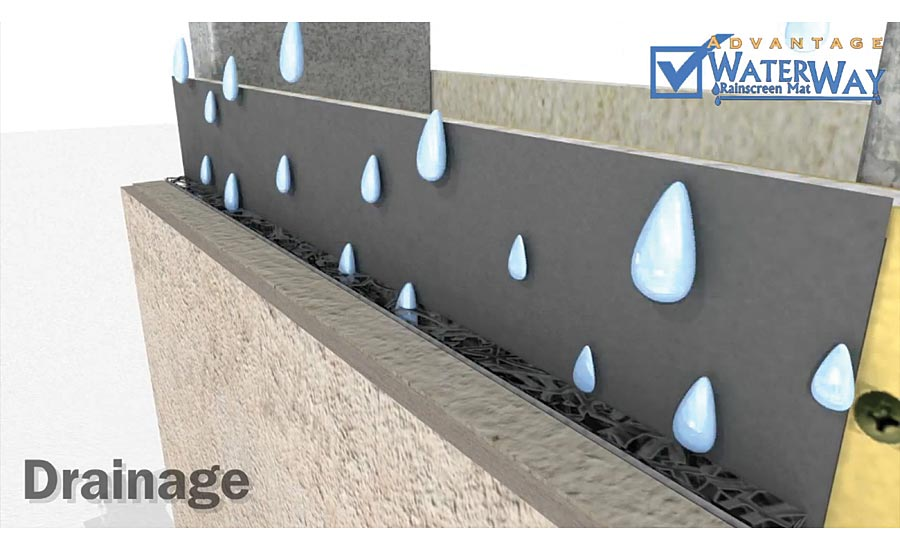 WaterWay Rainscreen & Ventilation Mats
