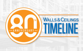 walls and ceilings anniversary