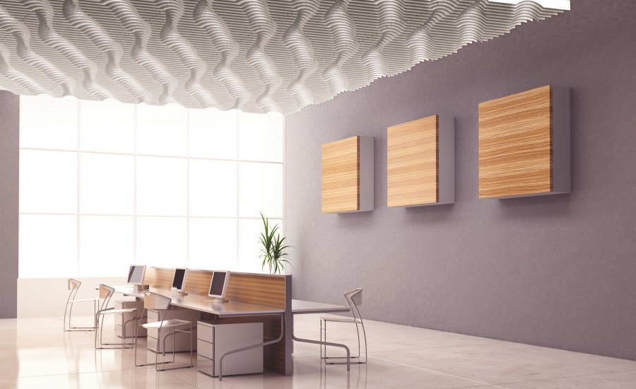 Dynamic Acoustic Ceiling Treatments 2016 02 03 Walls