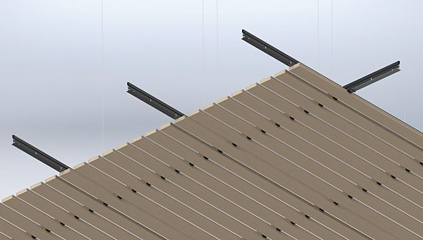 Linear Ceiling Grills : Linear wood ceiling panels and grilles