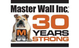 Masterwall 30 year logo