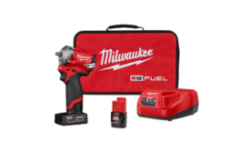 Stubby impact wrench kit