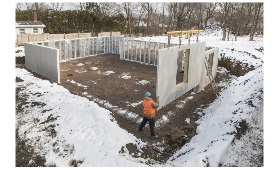 Superior Walls Xi Plus Foundation Installed in Narragansett