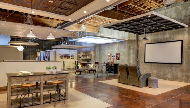 Portland Ceiling Showroom Opening 2015 01 26 Walls
