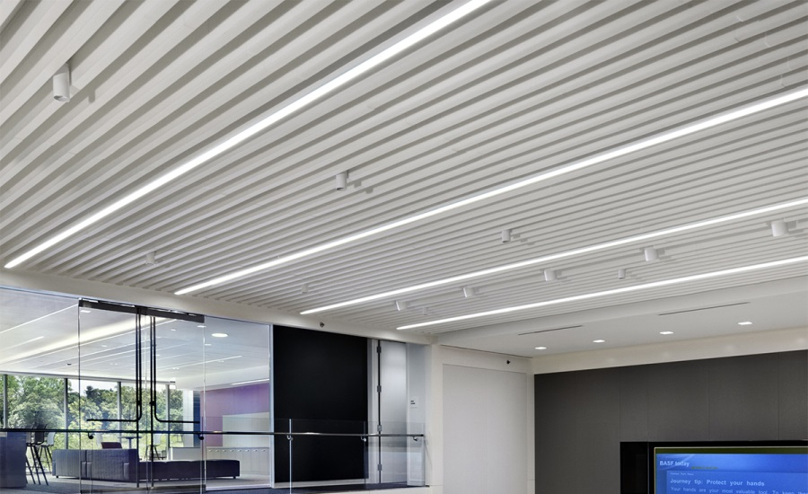 Sound Absorbing Straight Line Baffles 2015 08 05 Walls