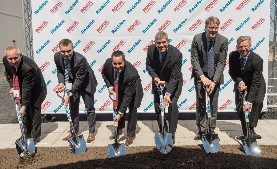 ROCKFON Breaks Ground