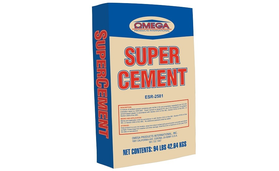 Portland-cement Based Plaster