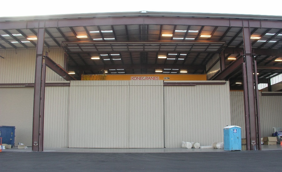 Hydraulic Crane Doors Help Caid Industries Save Money Time 2016