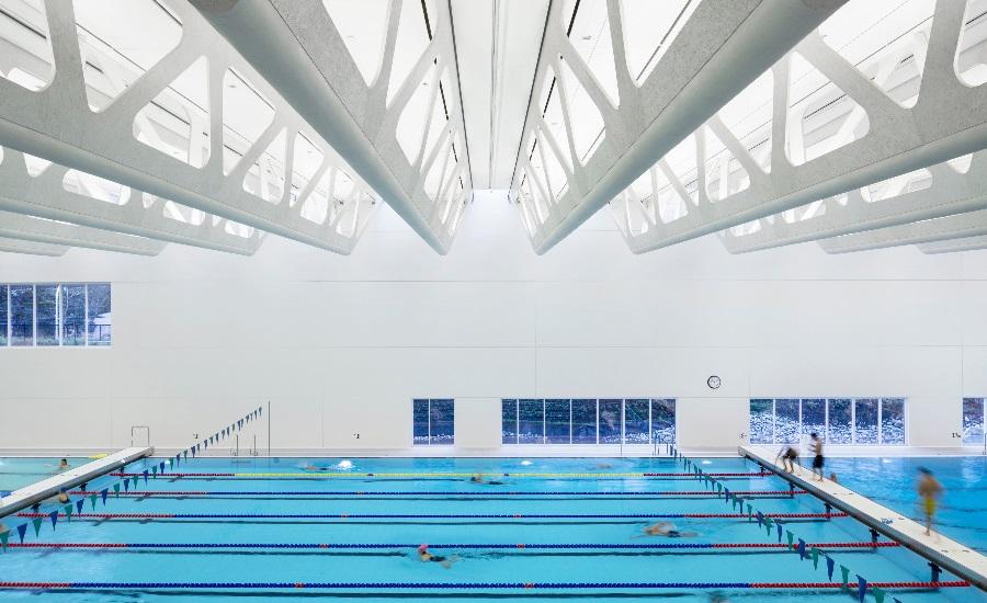 Ceiling Panels Make A Splash At New Aquatic Centre 2016 07 20
