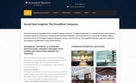 sound seal website