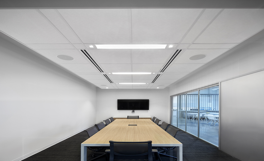 Acoustic Engineering Offices Choose Rockfon Ceiling Systems 2017