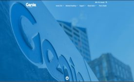 Genie Lift home page