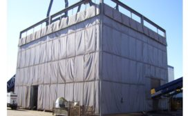 Sound curtain panels