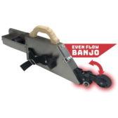 Even Flow Banjo with Corner Wheel