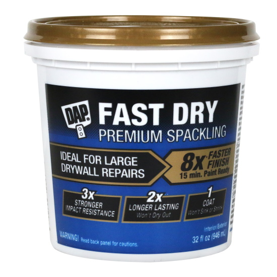 New Fast Dry Premium Spackling From Dap 2020 02 26 Walls Ceilings