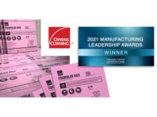 owens corning manufacturer award