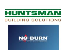 huntsman and no burn logo