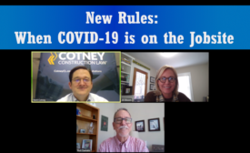 COVID-19 on jobsite
