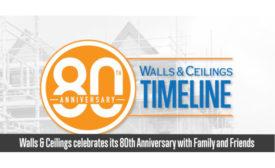 Walls Ceilings is celebrating 80 years