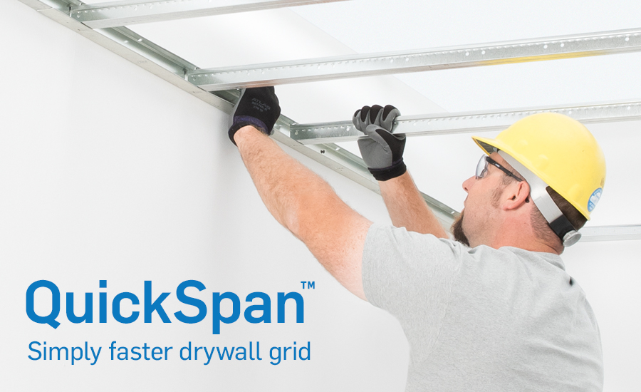 Locking Drywall Grid System