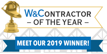 Walls & Ceilings 2019 Contractor of the Year