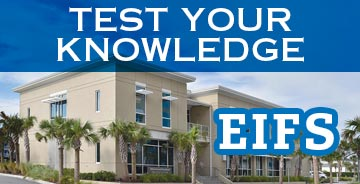 Test Your Knowledge on EIFS