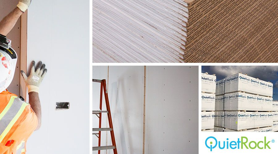 QuietRock® Sound Reducing Drywall