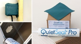 QuietSeal® Pro & QuietPutty® acoustical sealants