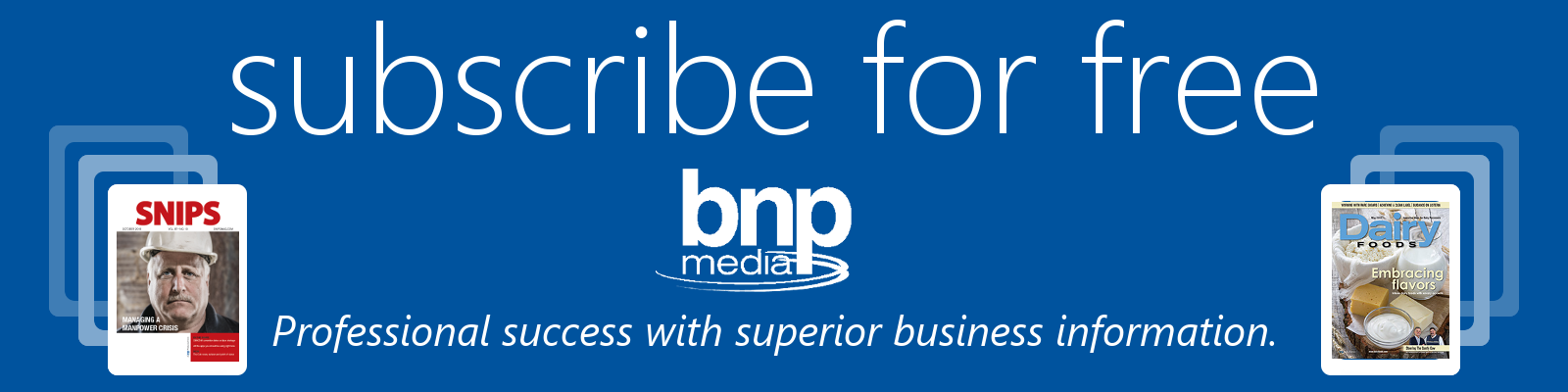 subscribe for free to BNP 