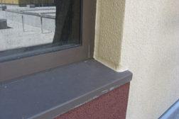 minerals on stucco