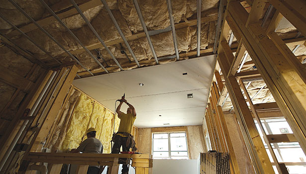 Preventing Ceiling Cracking With Resilient Channels 2014