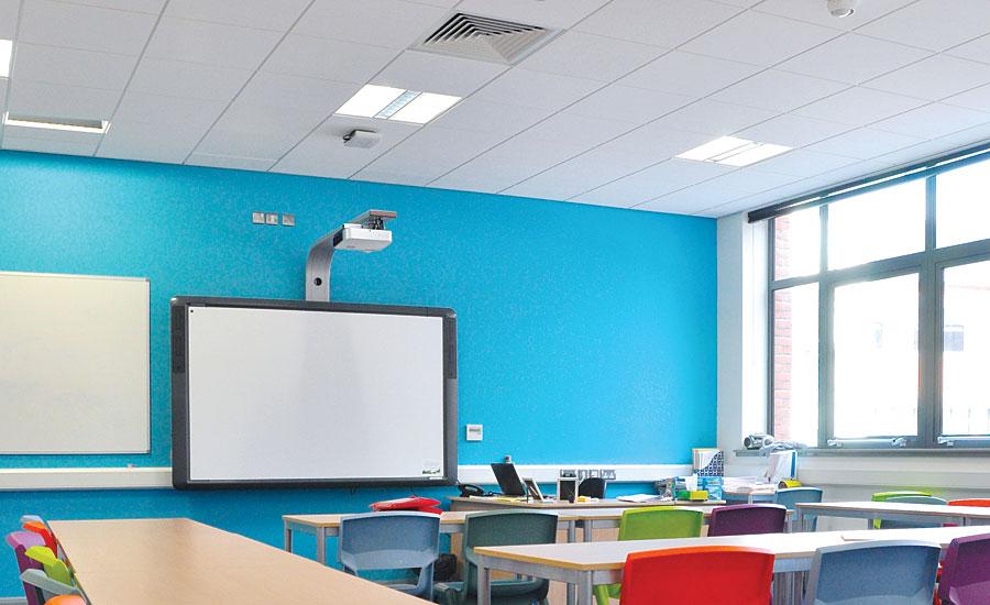 Classroom Design Articles ~ Improving acoustics in schools walls