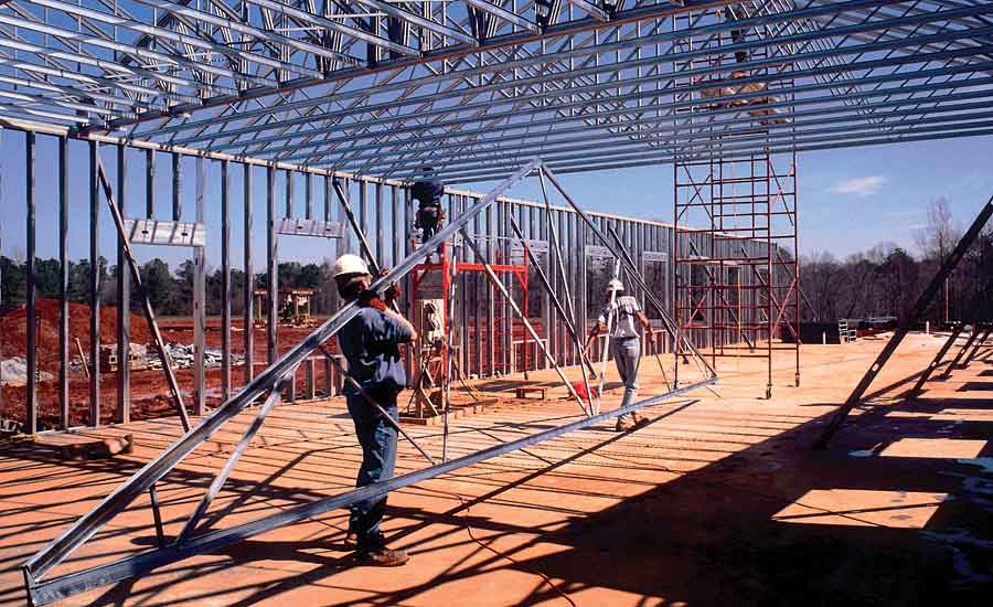 How Steel Trusses Perform 2015 10 01 Walls Amp Ceilings