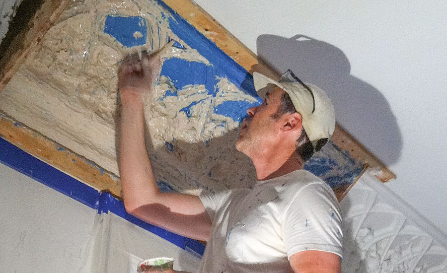 The Process of Plaster Restoration | 2016-04-01 | Walls