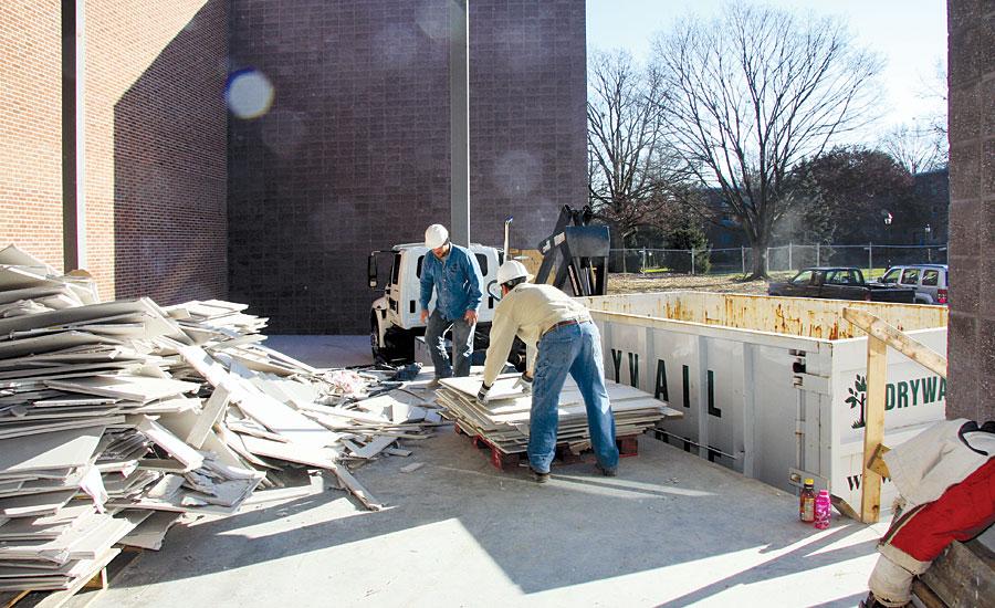 Wallboard Recycling Program Helps Reduce Job Site Waste