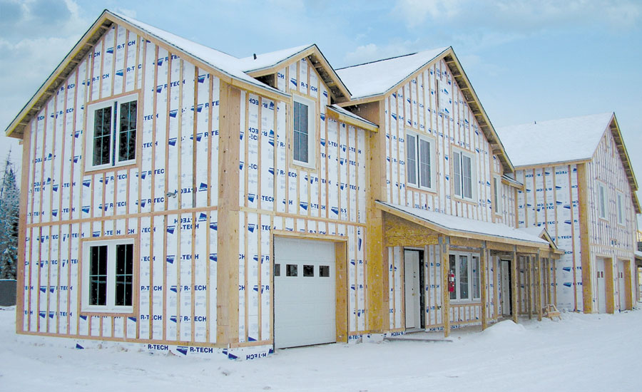 Eps Building Panels For Home : Eps insulation keeps military housing warm in sub arctic