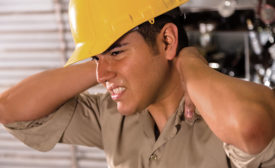 construction work pain