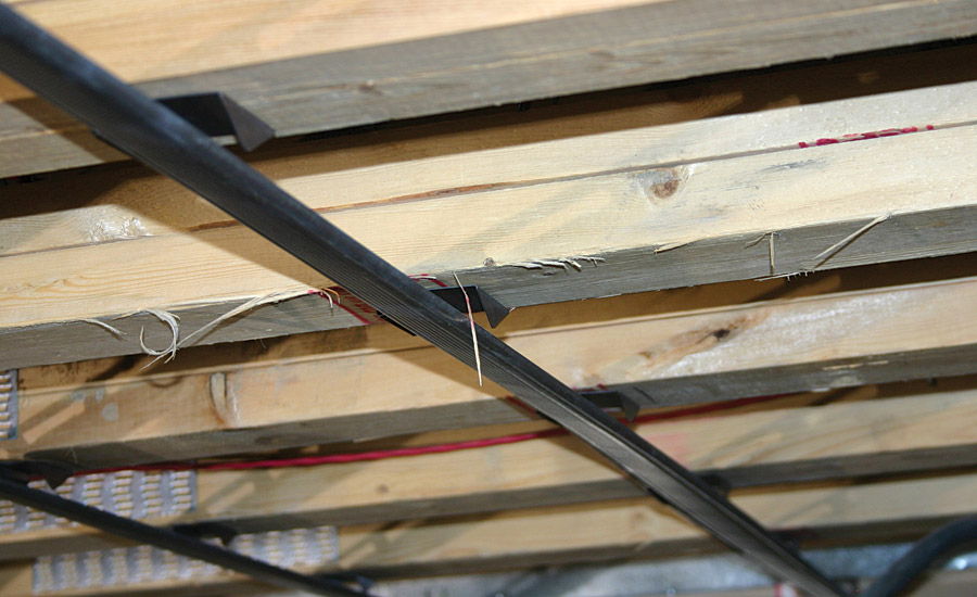 Rc Assurance Clipped In A Resilient Channel With Wood Joist Ceiling Assembly