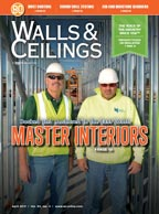April 2017 Walls and Ceilings