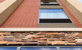 Failing Brick Façade