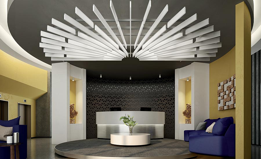 Product focus ceilings