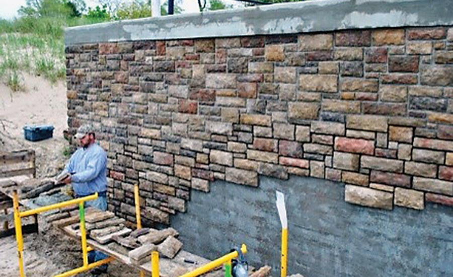 An argument for drainage planes 2017 06 01 walls for How to install stone veneer over stucco