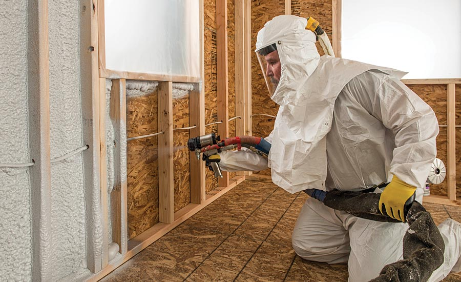 spray insulation tips