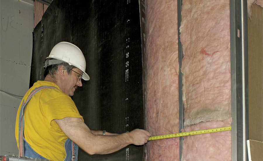 soundproofing and batting insulation