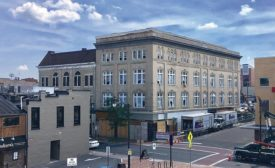 The Keezell Building restoration