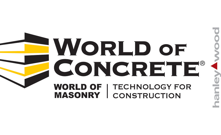 world of concrete convention logos
